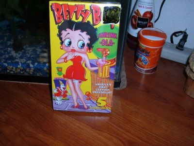 BETTY BOOP NEW VHS TAPE COLLECTION 4 /RARE