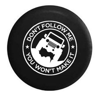 Jeep Wrangler Offroad Spare Tire Cover