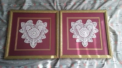 13x13 twin knitted picture art