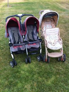 2 Double Strollers. $25 each -- Pick up in Oceanside