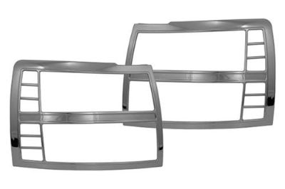 Buy SES Trims TI-HL-107 Chevy Silverado Headlight Bezels Covers Chrome Ring Trim 3M motorcycle in Bowie, Maryland, US, for US $77.00