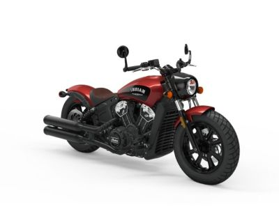 2019 Indian Motorcycle Scout Bobber Icon Series Ruby Metallic