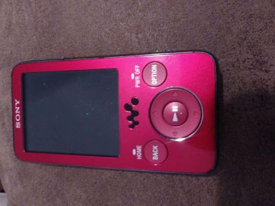 Sony MP3 Player *Missing Cords*