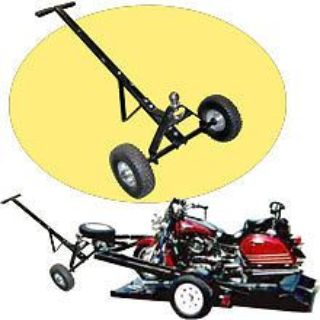 Buy 600LB Trailer Dolly RV Boat Trailor Hitch Moving Cart Camper Parts Towing System motorcycle in Chino Hills, California, United States