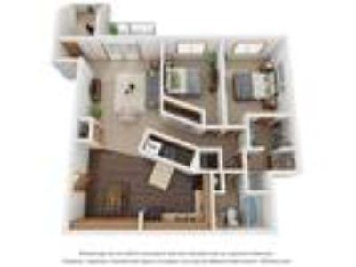 Monterey Apartments - 2 BR 1.5 BA C With Den