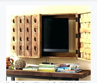 Pottery Barn Media Wall Cabinet