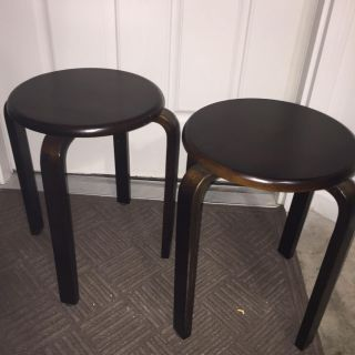 (2) side/accent /end table in great condition. 13 diameter and 18 tall. Porch pick up in White House within 48 hours of showing interest.