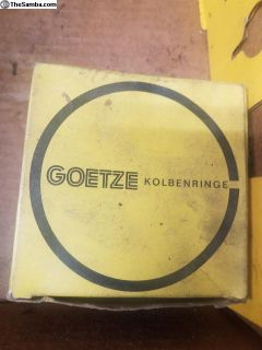 NOS Goetze piston rings 77mm