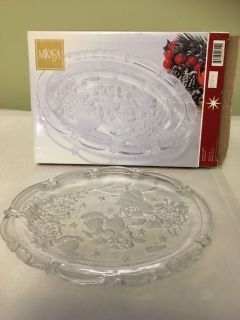Brand New beautiful glass plate MIKASA