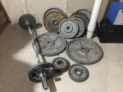 Used Olympic Weight Set