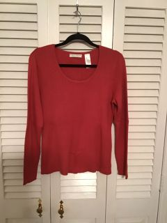 Crazy Horse. XL. 100% cotton sweater stretchy. Pick up at Target in McCalla on Thursday s 5:15 - 6:00