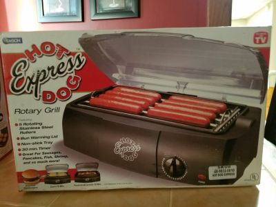 New-Hot Express Dog Rotary Grill