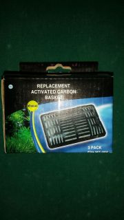 Activated carbon basket