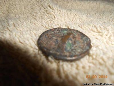266-267-AD-Roman Bronze Coin