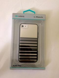 Iphone 5s & 5c Phone Case(Black striped)