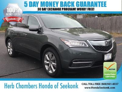 2016 Acura MDX (Forest Mist)