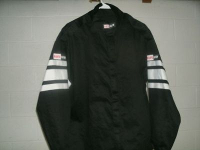 Purchase NEW SAFEQUIP FIRE SUIT JACKET EXTRA LARGE RACE RACING FIRESUIT BLACK SFI 3-2A/1 motorcycle in Jefferson, Ohio, United States, for US $45.00