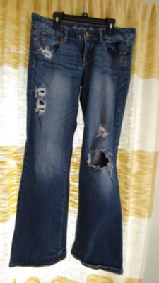 AE jeans size 8