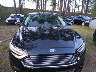 2014 Ford Fusion SE (Black)