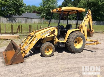 John Deere 110 4x4 Backhoe Loader