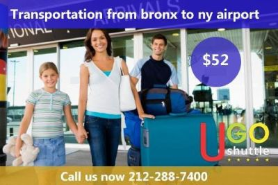 Transportation From Bronx To NY Airport