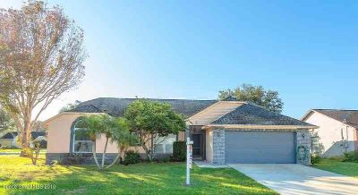 863 Jamestown Drive Rockledge Three BR, Well maintained corner