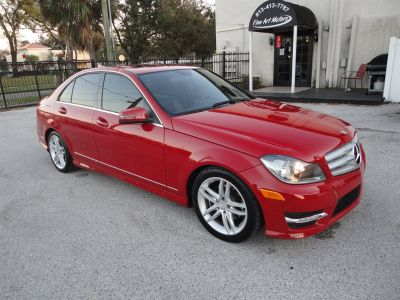 2012 Mercedes-Benz C-Class C300 4MATIC Luxury (Red)