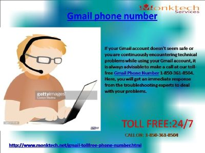 How does Gmail Phone Number help safeguard your account 1-850-361-8504 ?