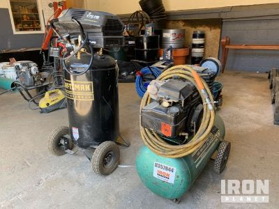 Lot of (2) Shop Air Compressors
