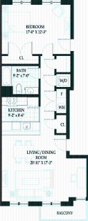 1 bedroom in Central