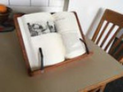 Ideal Wooden Book Stand -
