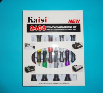 NEW gulu kaisi 2408 - tools set - repair versatile screwdriver kit - new in box