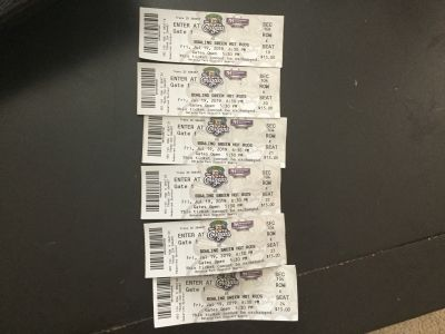 Kane County Cougars for tonight- 6 tickets
