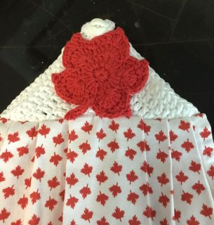 Canada Day Hanging Towels