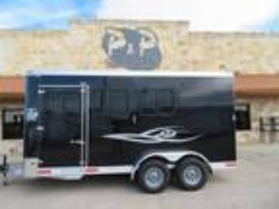 2019 Shadow Trailer Inc 3-Horse Slant Load 2 horses