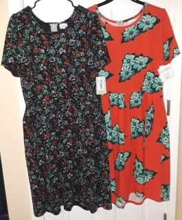 $40 Firm for Both Brandnew 3xl Lularoe Amelia dresses -selling together only