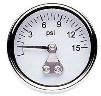 Purchase Professional Products 11112 Fuel Pressure Gauge 0-15 psi 1.5 in. Dia. motorcycle in Delaware, Ohio, United States, for US $11.92