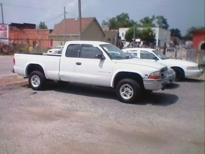 1999 Dodge Dakota Sport (White)
