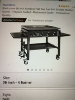 36 inch outdoor flat top gas grill griddle station