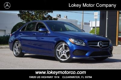 2017 Mercedes-Benz C-Class C 300 (Brilliant Blue Metallic)