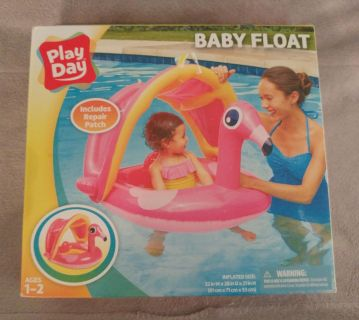 Brand new baby pool floatie/raft in box