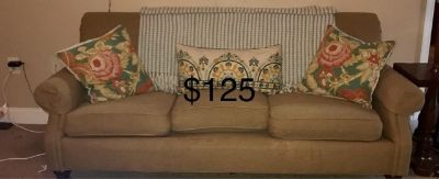 Sofa, Entry Table, Recliner