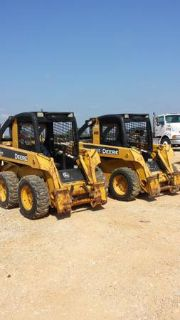 SKID STEERS FOR SALE or RENT