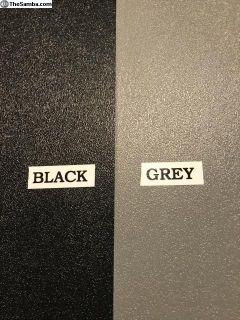 1968-1979 Bay Blk/Grey ABS plastic interior panels
