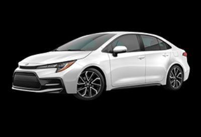 2020 Toyota Corolla SE (Super White)