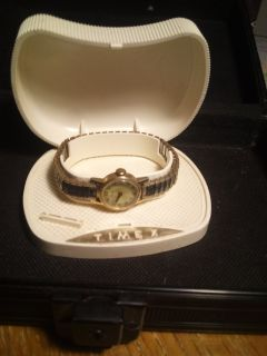 vintage timex watch with case/warranty card