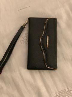 iPhone Wallet Case - black