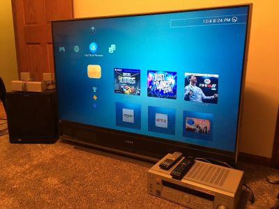 Sony 60 inch TV and Surround Sound