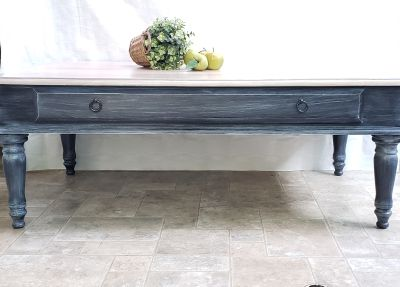 Beautifully Refinished Farmstyle Coffee table