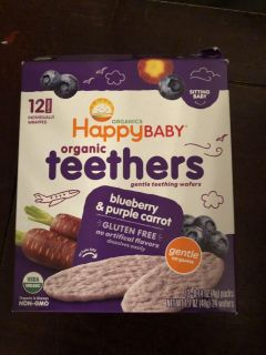 Happy baby organic tea there s blueberry and purple carrot
